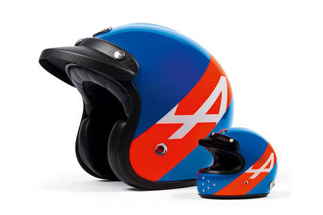 Commemorative Driver Helmets