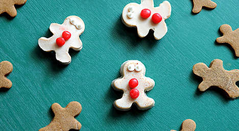 Ginger Gelatin Men Shooters - The Gingerbread Man Jelly Shots are Fun Personified Treats