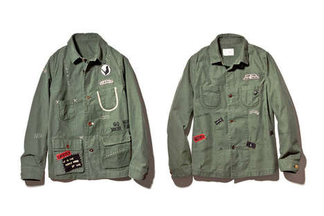Vandalized Military Jackets