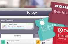 Purchase-Tracking Deal Sites - Bync Uses Your Credit Card and Bank Data to Offer Accurate Deals