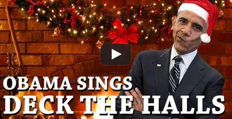 Presidential Christmas Carols