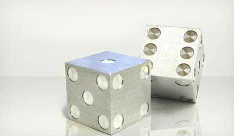 Minimalist Steel Dice