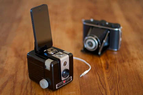 Vintage Camera Device Docks
