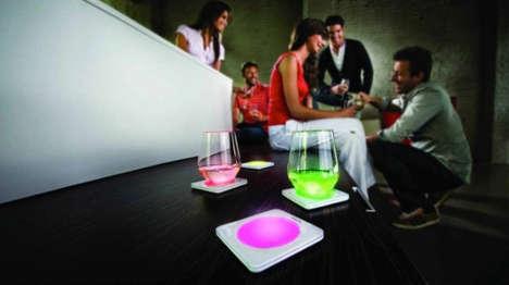 Illuminating Chromatic Coasters