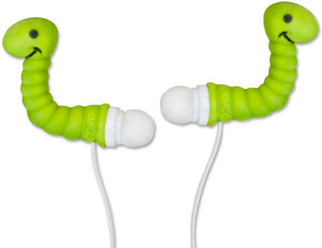 Creepy Crawly Headphones