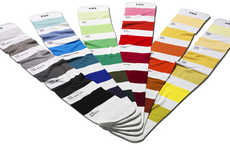 Cozy Paint Chip Apparel - The Pantone Scarves Make Matching Outfits Easier for the Less Fashionable