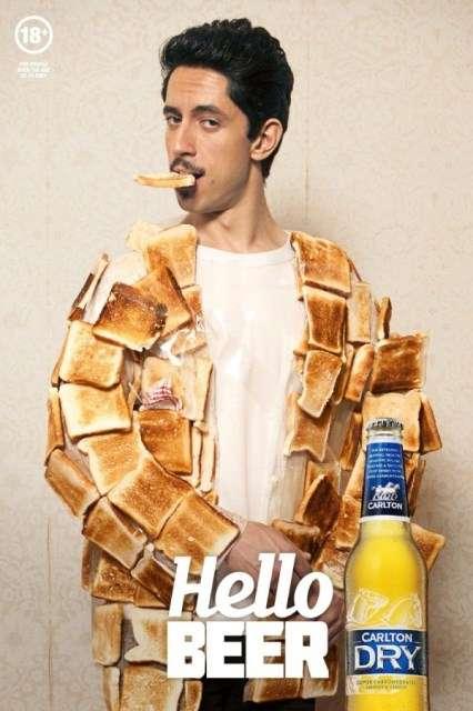 Toast Jacket Beer Ads