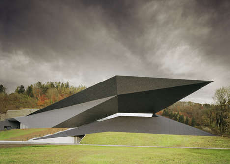 The Tyrol Festival Hall is a Geometrical Marvel in Austria