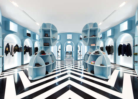 Zig-Zag Interior Boutiques - The HIT Gallery Hong Kong Boasts Modernist Italian Design