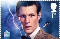 British Sci-Fi Stamps - The Doctor Who Stamps Celebrate the Show's 50th Birthday