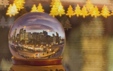 Snow Globe Time-Lapses