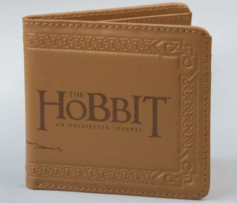 Adventurous Middle Earth Pocketbooks - The Hobbit Wallet Keeps Your Money Safe on Your Journey