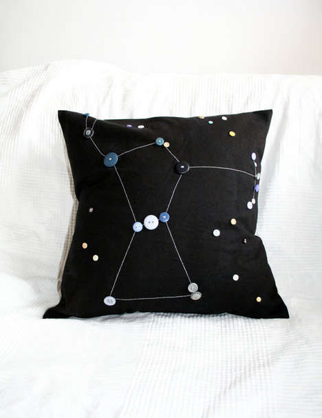 Night Sky-Mimicking Pillows