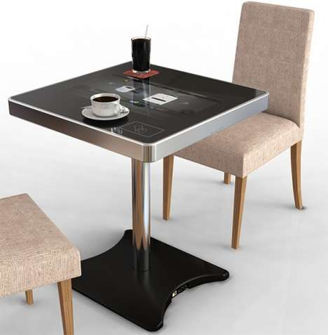 Touchscreen Cafe Tabletops