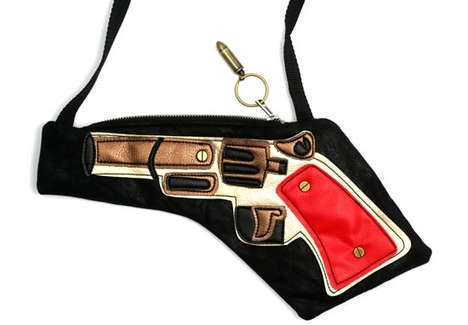 Feisty Fire Power Purses - The Gun Bag is a No Nonsense Sort of Handbag for Every Woman