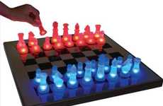 Brilliantly Bright Chess Sets - The LED Chess Set Adds a Little Light to Your Every Move