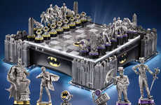 Masked Vigilante Board Games - Protect Gotham City with Keen Strategy in the Batman Chess Set