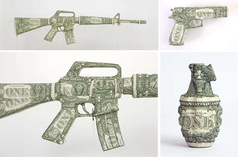 35 Examples of Cash Art