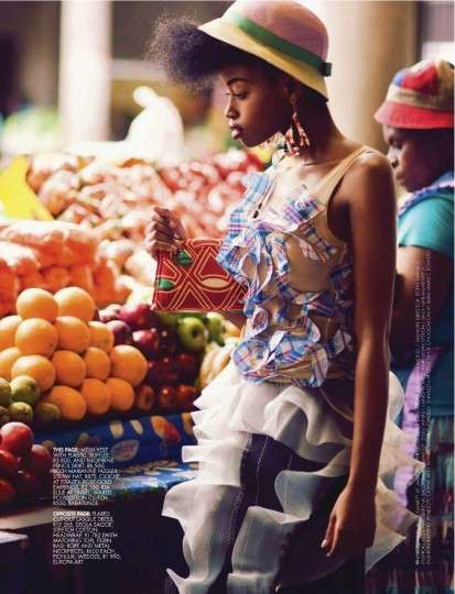 The ELLE South Africa January 2013 Issue is Full of Bold Prints