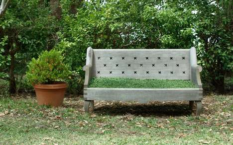 Flora-Seated Furniture - The Elliot Gorham Lawn Chair Mixes Outdoor Living with Contemporary Design