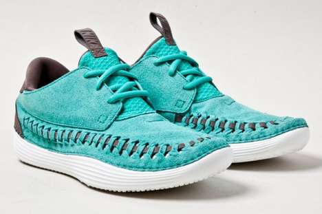 Sporty Moccasin Shoe Hybrids