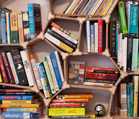 Collaborate on the Design of the Alan Rorie Voronoi Bookshelf
