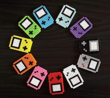 Old School Gamer Magnets