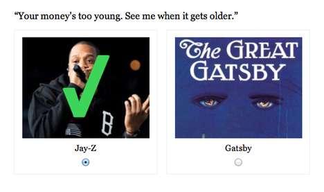 Gangster Gatsby Quizzes