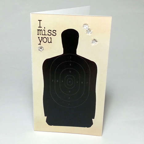 Shooting Range Stationary - Shoot a Greeting to Your Friend with This Shooting Target Card