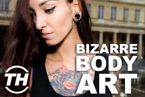 Bizarre Body Art - Shelby Walsh Unveils Her Top Picks for Girly Tattoos
