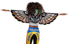 Technicolor Totem Apparel - The Adidas Original Jeremy Scott Line is Ingeniously Vibrant