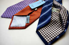 Cash Carrying Neck Ties - Battisti Napoli Ties Feature a Hidden Compartment to Store Your Valuables