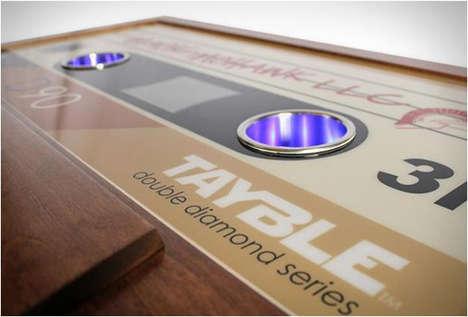 Nostalgic Cassette Tape Tables
