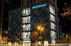 Exceedingly Digital Flagship Stores - The Burberry Michigan Avenue Location is Electronic