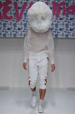 Face-shrouded Menswear Collections