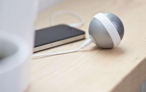 Spherical Portable Speakers