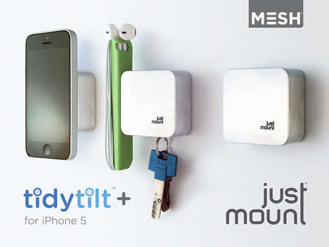 Magnetic Wall Smartphone Holders