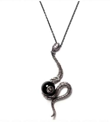 The JAM HOME MADE × Katsuhiko Sakamoto 2013 Zodiac Snake Necklace is S