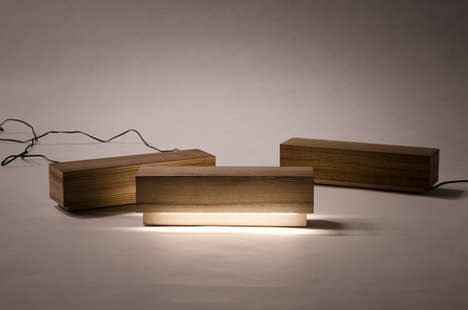 Winsome Wood Block Lights