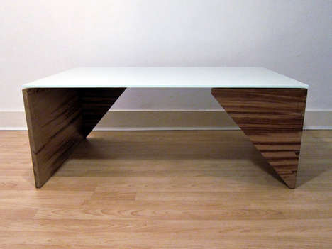 Minimalist Triangular Furniture