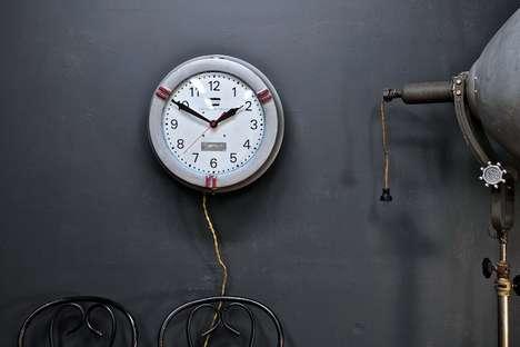 Vintage Bomb-Protected Clocks