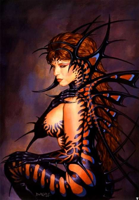 Deviant Goddess Illustrations