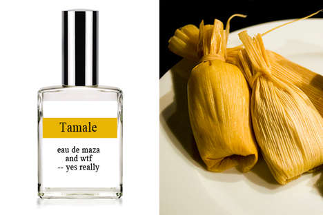 Tamale Perfume Takes Odors Out of The Kitchen and Onto Your Skin