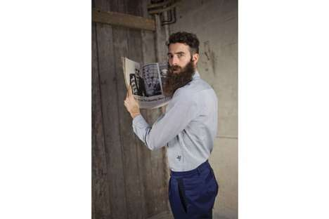 Bearded Conceptual Knitwear