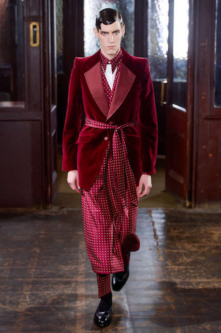 The Alexander McQueen Autumn/Winter 2013 Line is Draped
