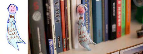 Kid Illustration Figurines