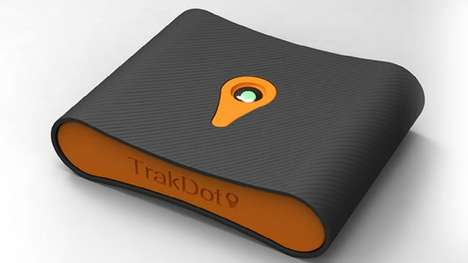 Lifesaving Luggage Locators - The Trakdot Keeps Tabs on Your Suitcase When Your Airline Cannot