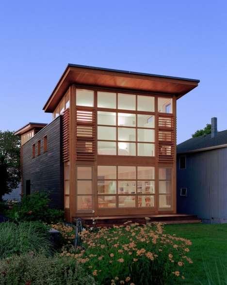 Wooden Windowed Homes