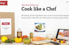 Recipe Ingredient Deliveries - Chefday! Brings Raw Foods to Doorstep to Create Delicious Meals