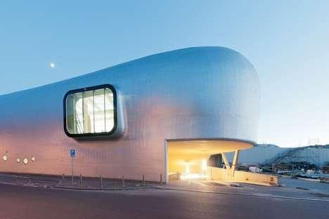 Delightful Orca-Inspired Architecture